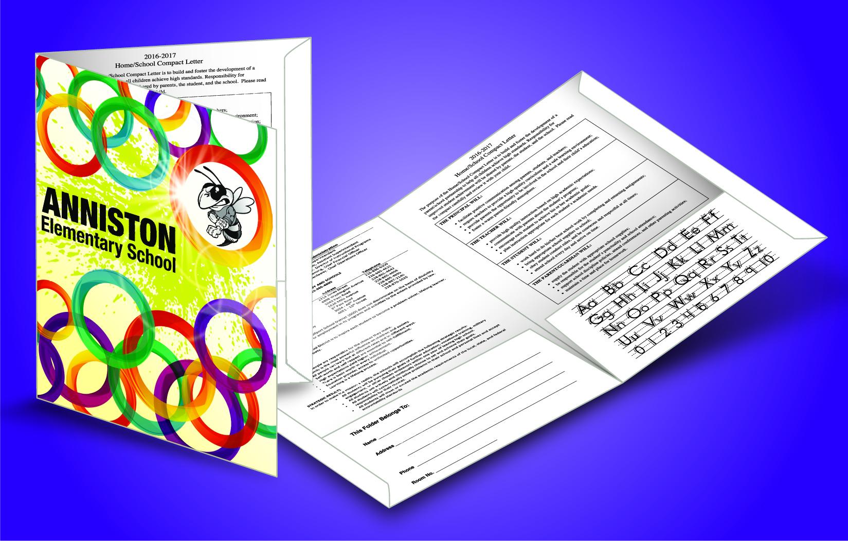 Custom School Folders School Folder Factory